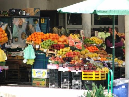 Markt in Bulgarien